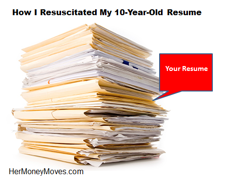 How I Resuscitated My 10-Year-Old Resume