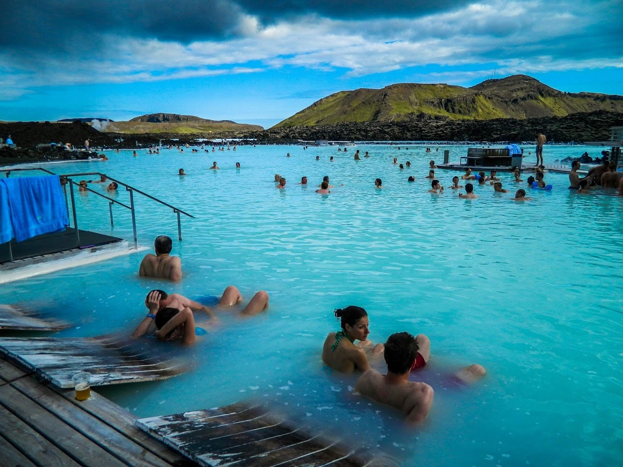 Image of Hot Springs in Iceland