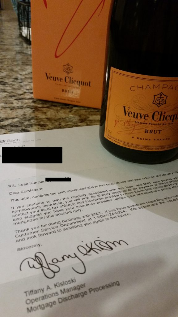 Early Mortgage Payoff Letter