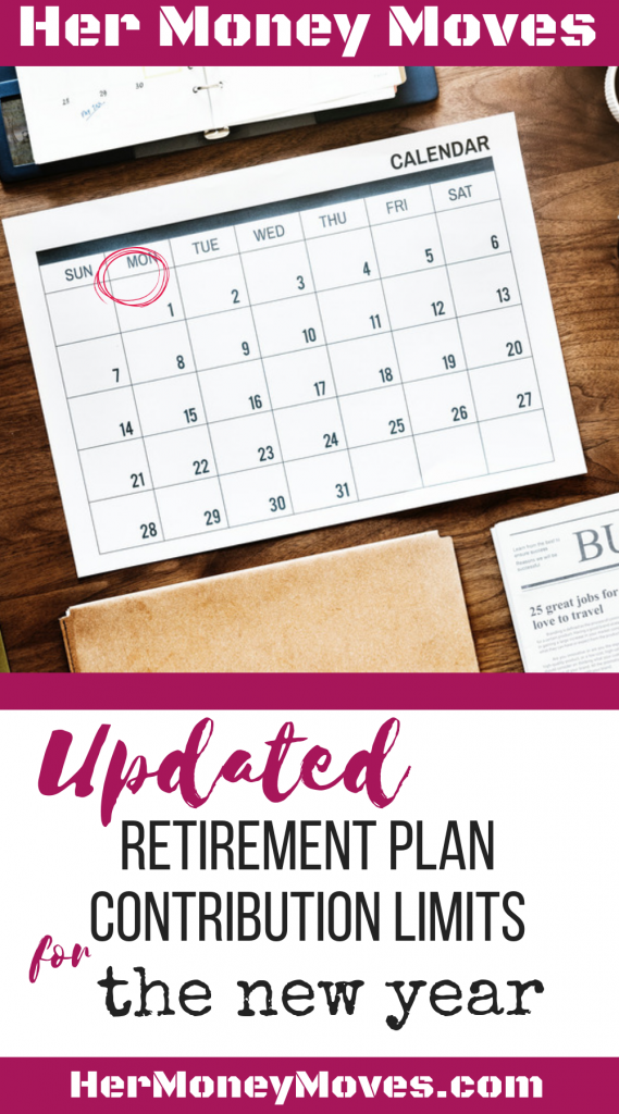 UPDATED RETIREMENT PLAN CONTRIBUTION LIMITS
